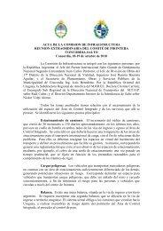 Acta Comisión Infraestructura - Cefir