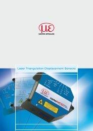 Laser Triangulation Displacement Sensors