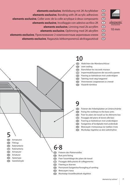 Montageanleitung Elements 2010q.indd - Xkitchen24.com