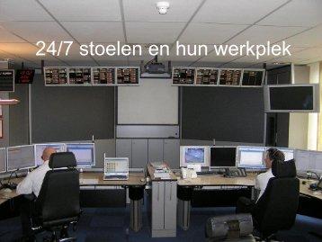 24/7 stoelen en hun werkplek - BCS Recaro