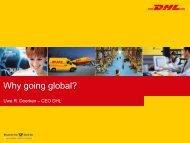 Global market revenue (USD B) - Deutsche Post DHL