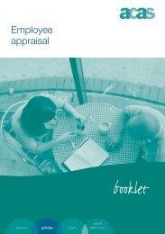 ACAS Employee appraisal guide - eRiding