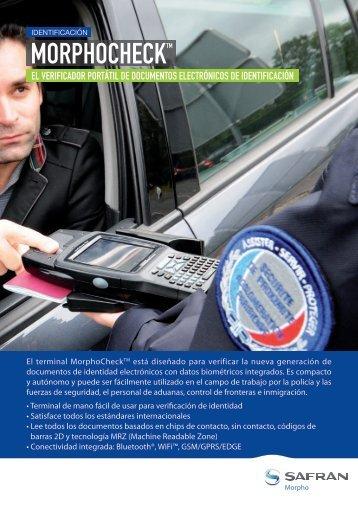 Product Brochure (Spanish version) - Morpho