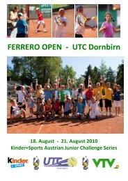 ausschreibung-ferrero-open-2turnier-utc-dornbirn-2010 - tennis club ...