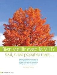 "Vision positive ""t"" 2007 - Portail VIH / sida du Québec"
