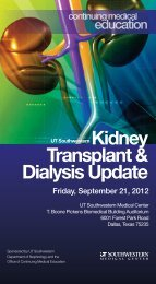 Transplant & Dialysis Update - The End Stage Renal Disease ...
