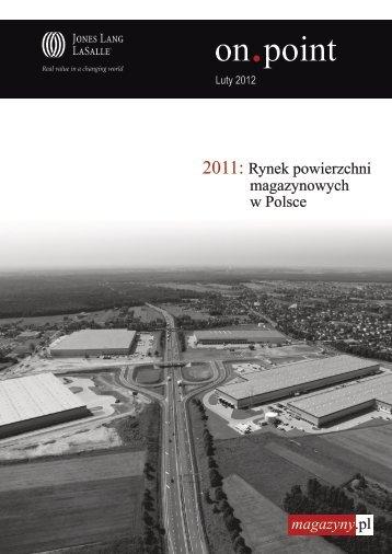2011: Rynek powierzchni magazynowych w Polsce