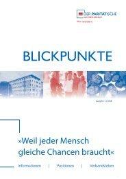 Blickpunkte 01-2008 - Der PARITÄTISCHE Sachsen Anhalt