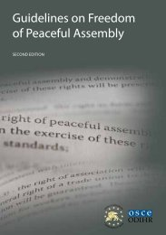 Guidelines on Freedom of Peaceful Assembly (2nd ... - Legislationline