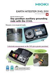 EARTH HiTESTER 3143, 3151