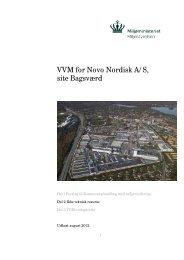 Ikke teknisk resumé, VVM for Novo Nordisk - Gladsaxe Kommune