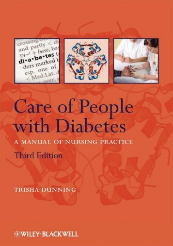 106-Care of People with Diabetes - A Manual of Nursing Practice, 3 Edition-Trisha Dunning-1405170