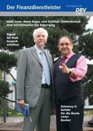 DBV Heft 2_2011 Umschlag