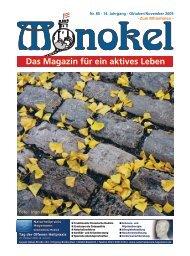 Nr. 85 · 14. Jahrgang - Oktober/November 2009