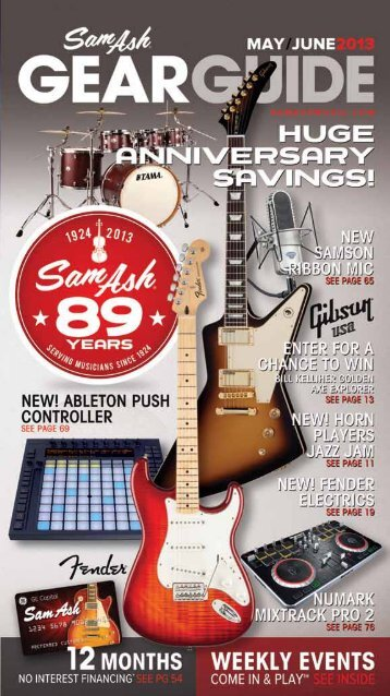 Download Catalog - Sam Ash Music
