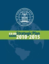 Strategic Plan 2010-2015 - Export-Import Bank of the United States