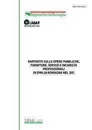 Rapporto 2001 - Territorio - Regione Emilia-Romagna