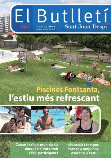 l'estiu més refrescant - Ajuntament de Sant Joan Despí