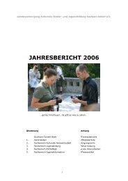 jahresbericht 2006 - lkj) Sachsen-Anhalt