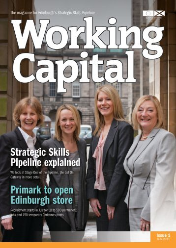 Working Capital 1 June 2011 - Joined up for Jobs