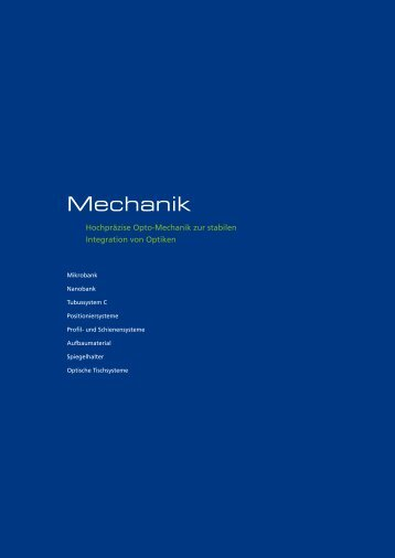 Mechanik - Qioptiq Q-Shop