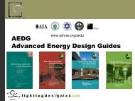 AEDG Advanced Energy Design Guides - Building Energy Codes