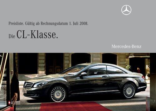 Die CL - Klasse. - Mercedes Benz