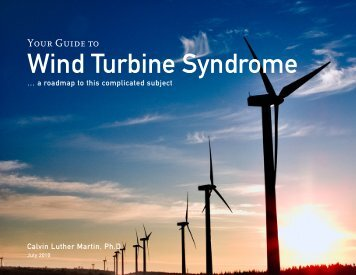 Your Guide to Wind Turbine Syndrome - Wind Watch