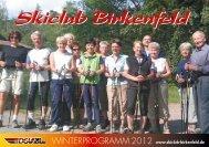 Kiclub Birkenfeld - Skiclub Birkenfeld e. V.