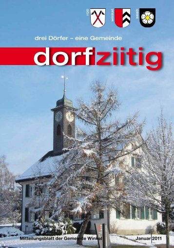 Dorfziitig Januar 2011 - Gemeinde Winkel