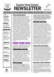 ThT Thursday 21 Oct 2010 We strive to - Drayton State School ...