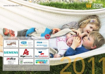 Jahresbericht 2011 (2.5 MB) - Vorarlberger Kinderdorf