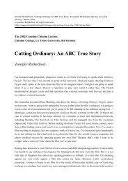 Cutting Ordinary: An ABC True Story Jennifer ... - Digital Repository