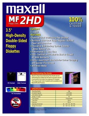 Floppy Disks - Maxell Canada