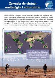 Xerrades de viatges ornitològics i naturalistes