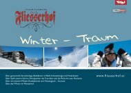 Download winter price list 2010/2011 (pdf) - Hotel Fliesserhof