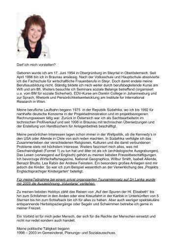 Brigitte Zeillinger - Braunau