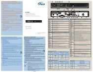 Pace DC758D - Quick Start Guide - English