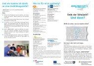 Informationen für Schülerinnen und Schüler ... - Berufsstart plus