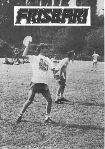 Frisbari 2/1982 - Ultimate.fi