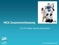 MCK Zusammenfassung - schmiedecke.info