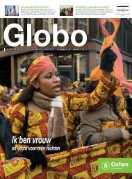 Globo 33: Ik ben vrouw en vecht voor mijn rechten - Oxfam-Solidariteit