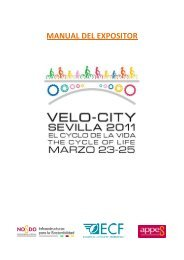 Manual del Expositor - Velo-City 2011