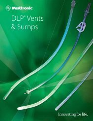 DLP® Vents & Sumps - Find your ideal - Medtronic
