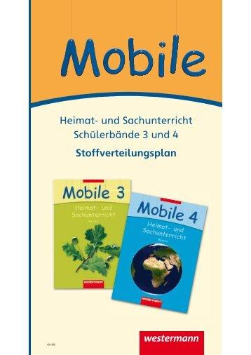 Heimat- und Sachunterricht Schülerbände 3 und 4 ...