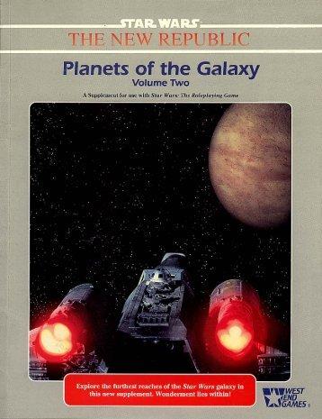 WEG40057 – Planets of the Galaxy – Volume Two - Speed-Freak