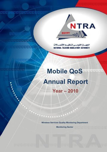Mobile QoS Annual Report Year – 2010