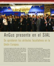 Angus presente en el SIAL - Asociación Argentina de Angus