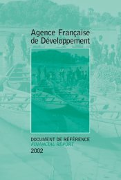 Information concerning the issue - Agence Française de ...