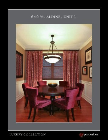 640 W. ALDINE, UNIT 1 - Properties